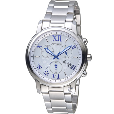 CITIZEN xC 花漾時尚光動能腕錶(FB1430-69A)38mm