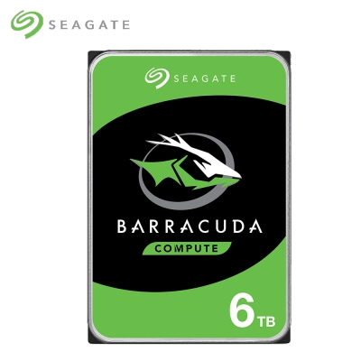 Seagate 新梭魚 BarraCuda 6TB 3.5吋桌上型硬碟 ST6000DM003
