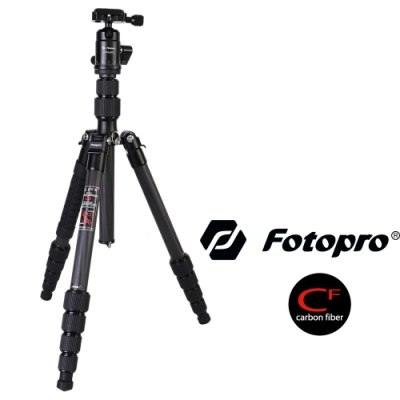 FOTOPRO 富圖寶 X-GO E 輕量碳纖維三腳架套組 (公司貨) 載重8公斤