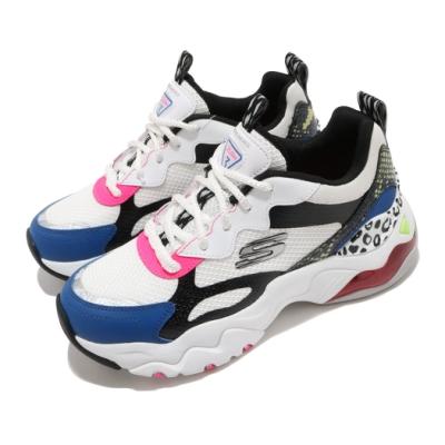 Skechers 休閒鞋 D Lites 3 Air 老爹鞋 女鞋 厚底 增高 修飾腿型 穿搭 緩震 耐磨 白 黑 149260WBMT