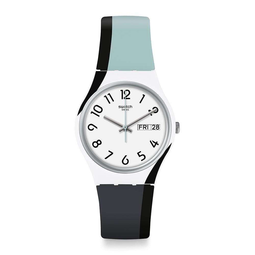 Swatch Bau 包浩斯系列手錶 GREYTWIST 拼貼灰 -34mm