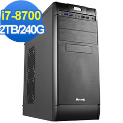 技嘉B360平台[衝擊兵長]i7六核效能電腦