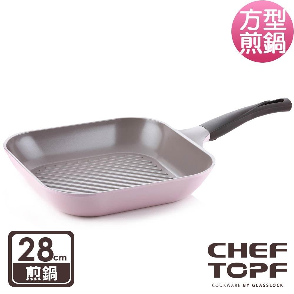 韓國Chef Topf 薔薇系列28公分不沾煎鍋