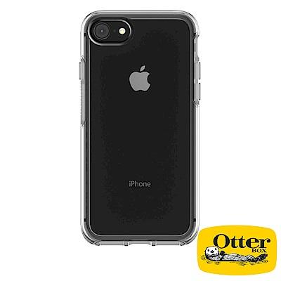 OtterBox iPhone7 / iPhone8炫彩幾何透明保護殼-經典透明