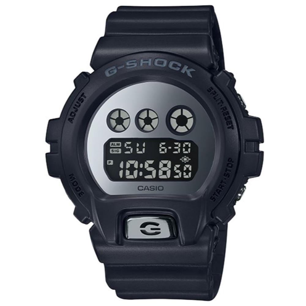 G-SHOCK 絕對強悍霧面金屬運動腕錶-炫目銀(DW-6900MMA-1)/32mm