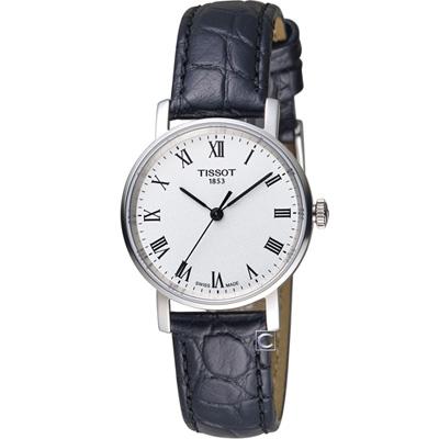 TISSOT天梭Everytime經典時尚腕錶-白羅/31mm