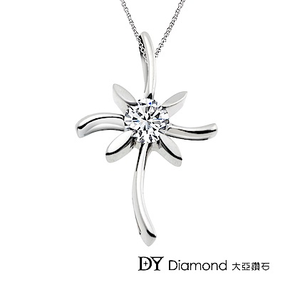 DY Diamond 大亞鑽石 18K金 0.10克拉 時尚鑽墜