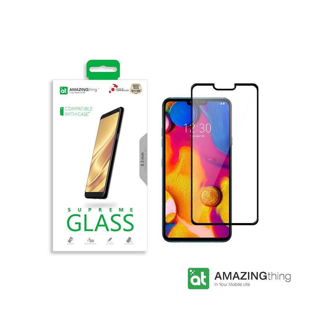 AMAZINGthing LG V40 滿版強化玻璃保護貼