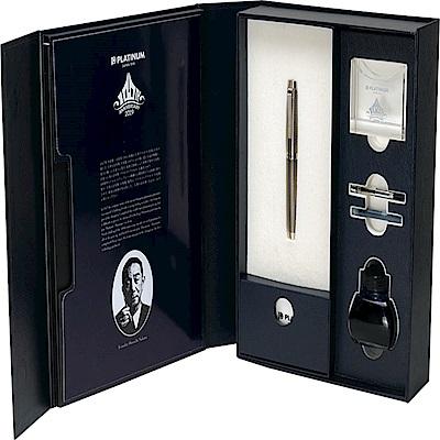 日本 PLATINUM白金 THE PRIME 100週年紀念 純銀筆桿 14K 鋼筆