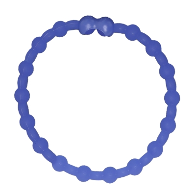 Pro Hair Tie 扣環髮圈單條組-藍色夜光