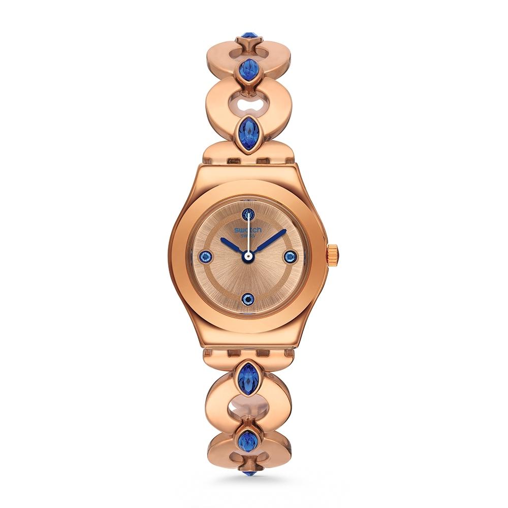 Swatch Irony 金屬Lady系列手錶 GOLDENLINKINGS -25mm