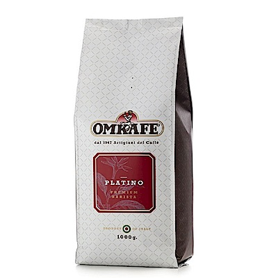 OMKAFE 義大利咖啡大師鉑金咖啡豆(1000g)