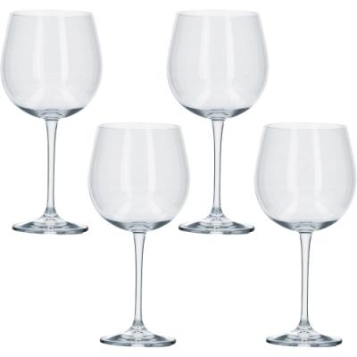 《CreativeTops》水晶紅酒杯4入(670ml)