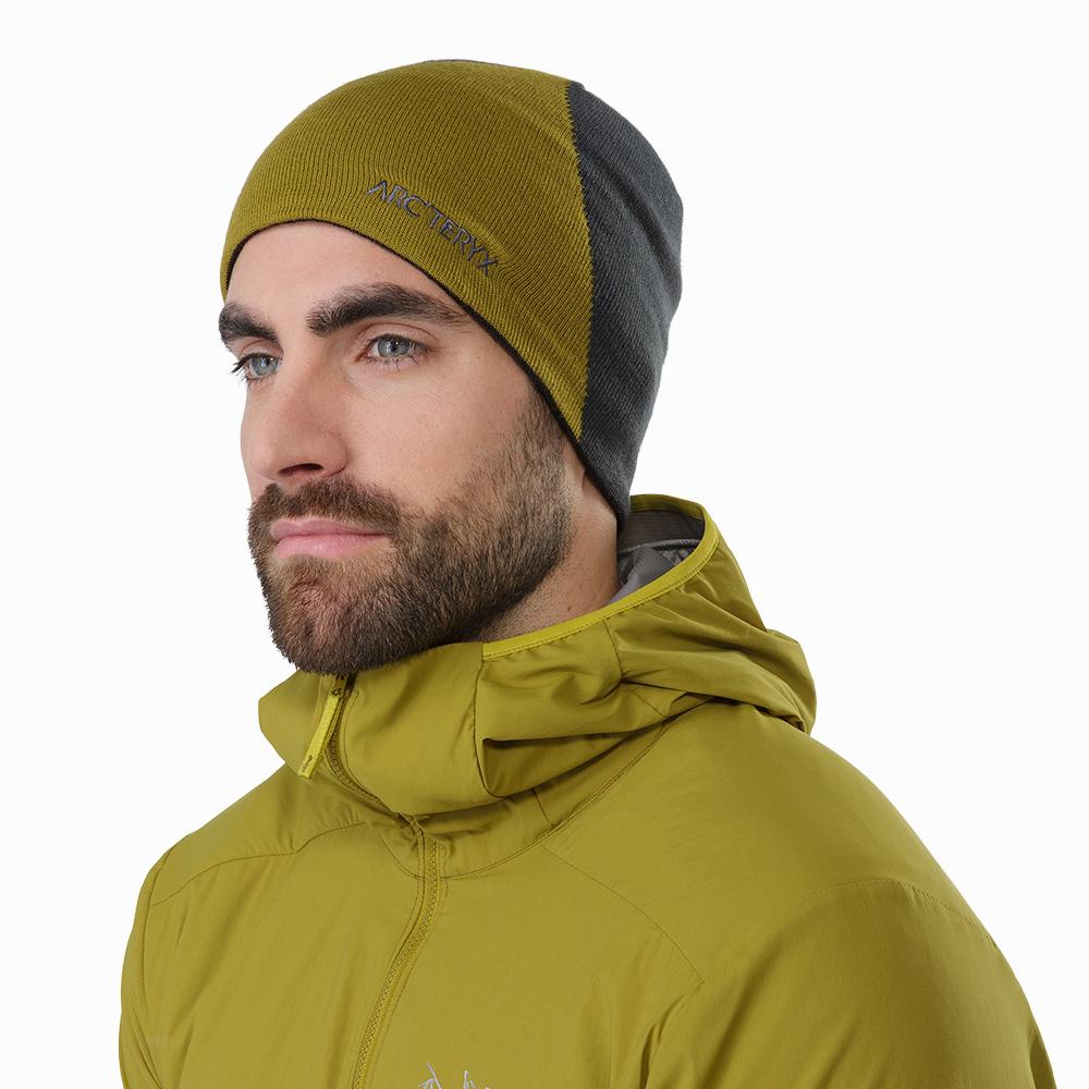 Arcteryx Rise 保暖針織毛帽 橄欖黃/獵戶綠