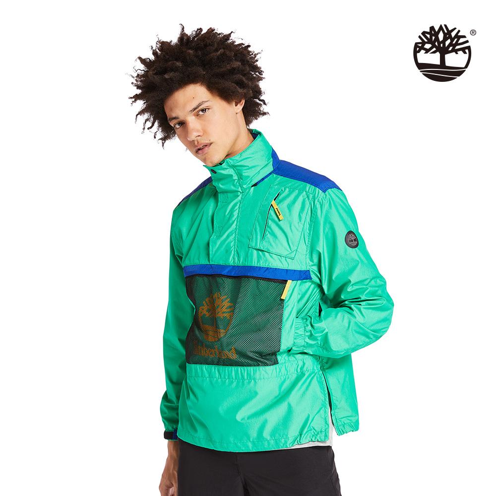 Timberland 男款薄荷綠輕質連帽套頭上衣 A29RB