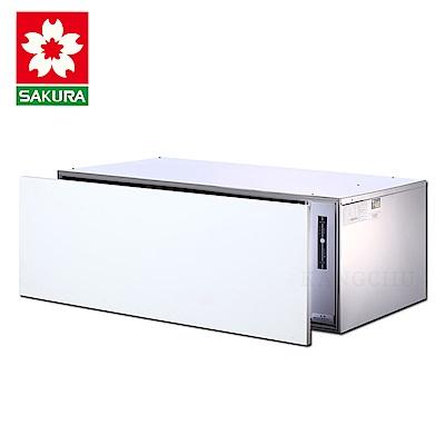 櫻花牌 Q7598A 崁門板三段時間臭氧型90cm橫抽內崁式烘碗機(不含安裝)