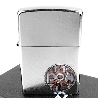 ZIPPO 美系~Button Logo-按鈕圖案打火機