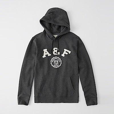 AF a&f Abercrombie & Fitch 帽T灰色 1064