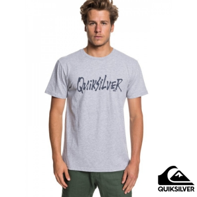 【QUIKSILVER】SCRIPTUAL MOD T 恤 灰
