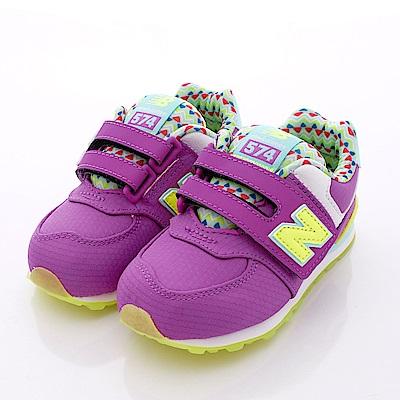 零碼-14.5cm NewBalance童鞋 574後穩定機能鞋款S6I紫