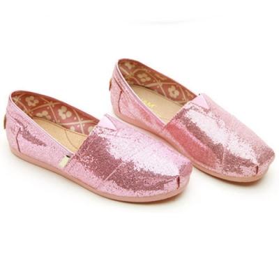韓國KW美鞋館 (現貨+預購) 絕美經典亮面休閒懶人鞋-粉