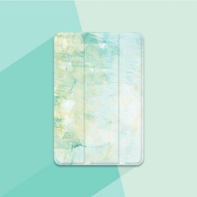 漁夫原創- iPad保護殼 Air3(2019) - 嫩綠清新