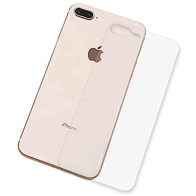 iPhone 8 Plus/iPhone 7 Plus 抗污防指紋超顯影機身背膜(2入)