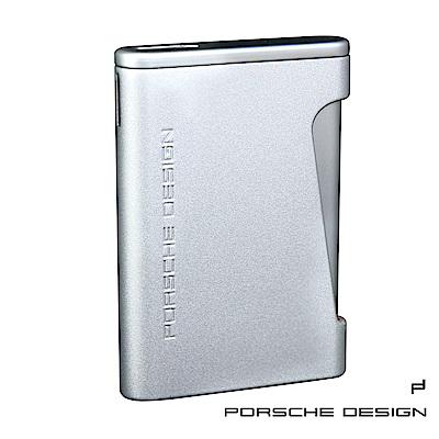 保時捷Porsche Design P3641扁平型防風火焰打火機(銀)