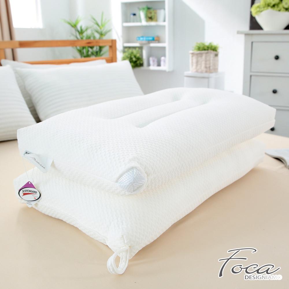 FOCA  3M蜂巢式-人體工學水洗枕(超值買一送一)