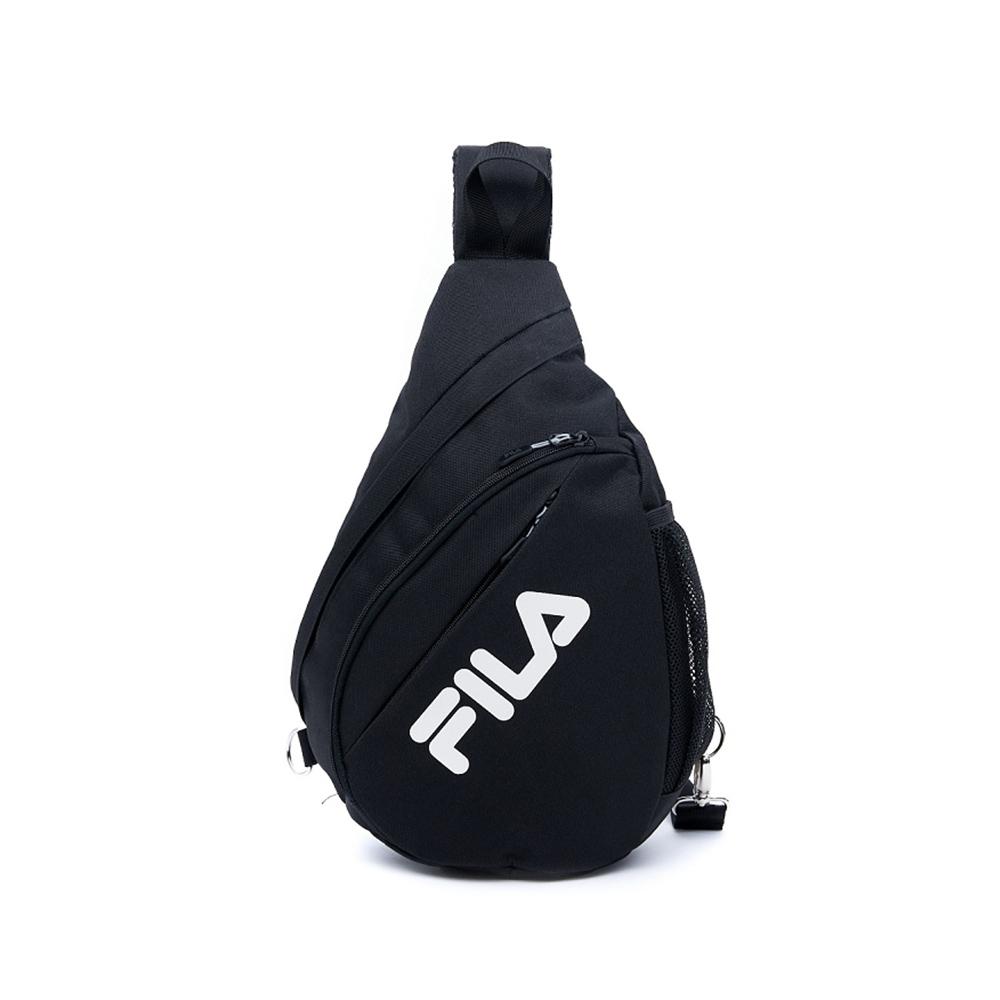 FILA 單肩斜背包-黑 BPV-1403-BK