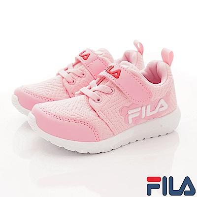 FILA頂級童鞋 輕量簡約運動款 EI23S-512粉(中大童段)
