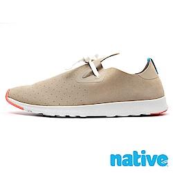 native APOLLO MOC 男/女鞋-裸駝色x珊瑚紅