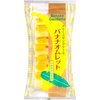 日新堂製果 香蕉風味夾心蛋糕(154g)