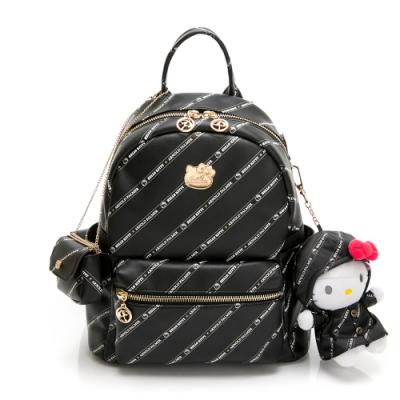 Hello Kitty聯名- 後背包 Trendy Master系列-黑色