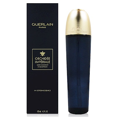 GUERLAIN嬌蘭 蘭鑽氧生蘭花精露125ml (法國進口) 附隨機專櫃化妝包乙份