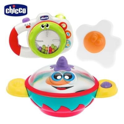 chicco-小小廚神煎蛋平底鍋+歡樂音樂照相機