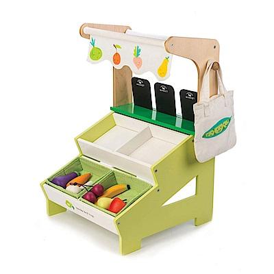 Tender Leaf Toys木製家家酒玩具-新鮮市集蔬果攤玩具組