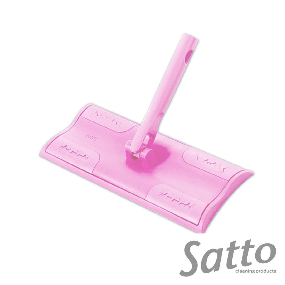 日本山崎satto 旋轉式360°除塵拖把(組合頭) product image 1