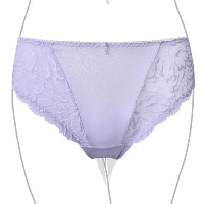 推EASY SHOP-典戀貴氣 中腰三角褲(水漾紫)