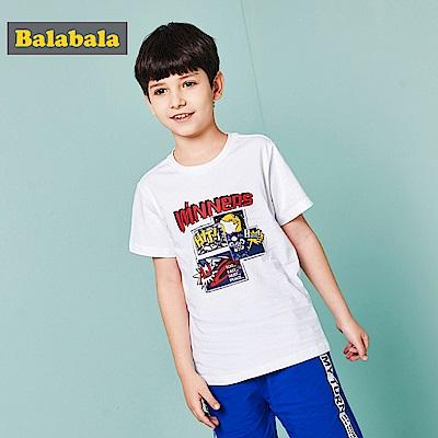 Balabala巴拉巴拉-復仇英雄圖案造型短袖T恤-男(5色)