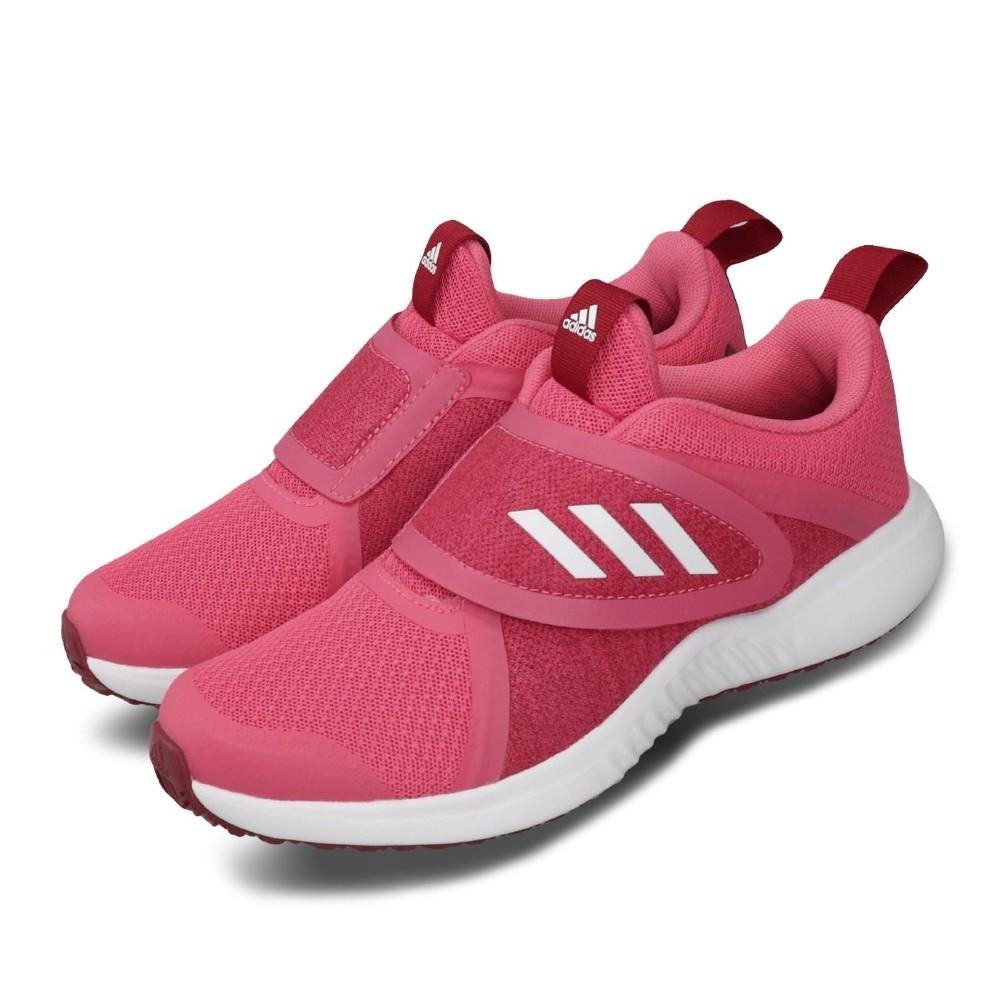 adidas 慢跑鞋 FortaRun X CF K 童鞋