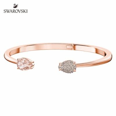 施華洛世奇 Mix 玫金色復古線性造型手環
