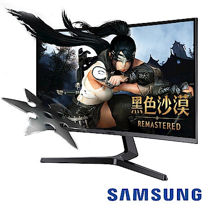 SAMSUNG C32JG50QQE 32 型2K曲面電競電腦螢幕
