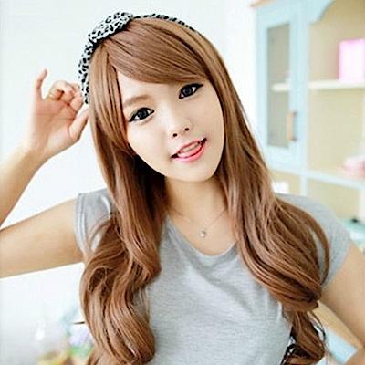 米蘭精品 女假髮整頂長假髮-日系甜美蓬鬆大波浪美髮用品3色69o28