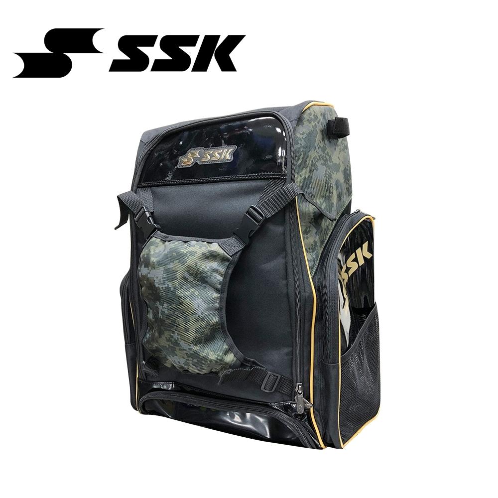 SSK    大型後背包   黑/數位綠   MABB05-9053