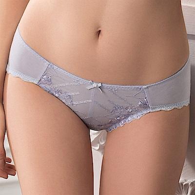 華歌爾 Wire Free Bra系列 M-LL 中低腰三角褲(清新藍)