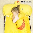 Milo&Gabby 動物好朋友-三合一超柔軟四季睡袋 (DUKE小鴨)