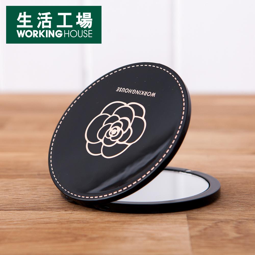 【給皂機加購中-生活工場】Shining雙面圓鏡13