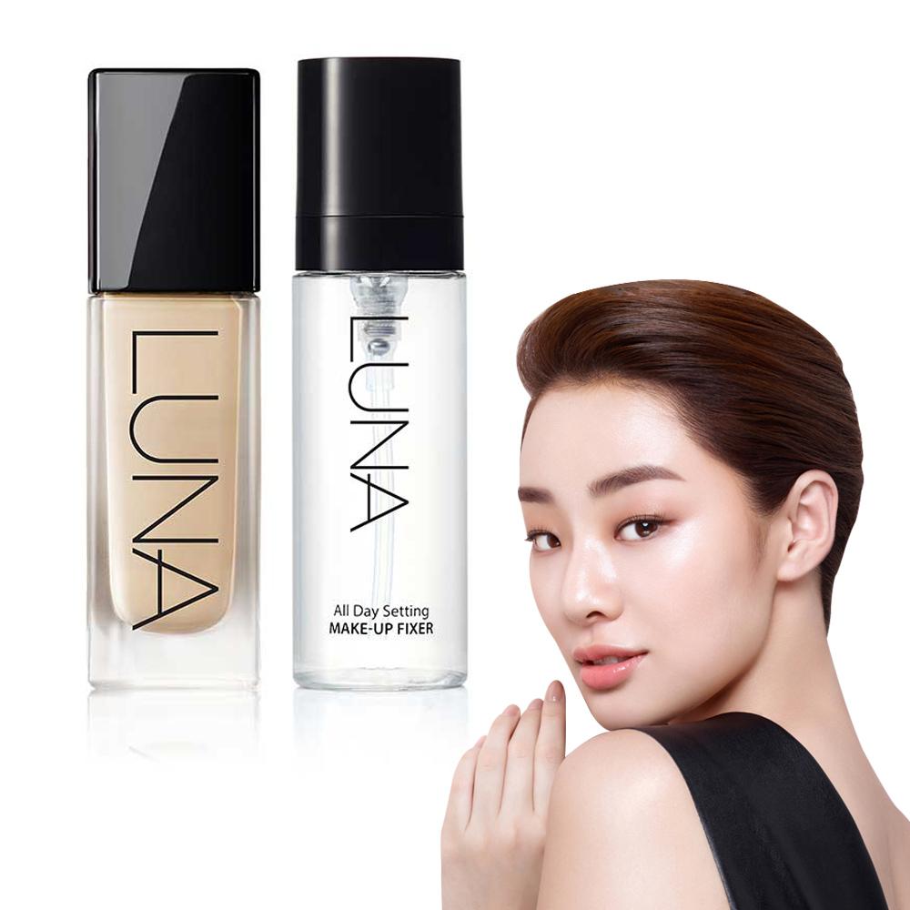 韓國LUNA 完美肌粉底液30ml(送定妝噴霧50ml) #13柔膚色