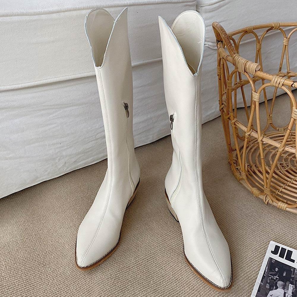 韓國KW美鞋館-獨家優惠-經典英倫假期中筒靴(共6款可選) product image 1